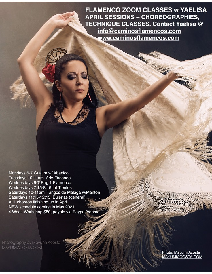 April Flamenco Flyer 2021